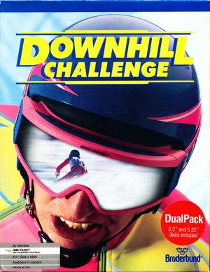Cover for Downhill Challenge.