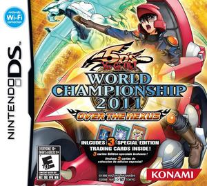 Cover for Yu-Gi-Oh! 5D's World Championship 2011: Over the Nexus.