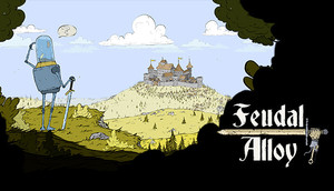 Cover for Feudal Alloy.
