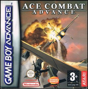 Cover for Ace Combat Advance.