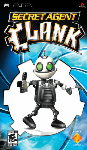 Cover for Secret Agent Clank.