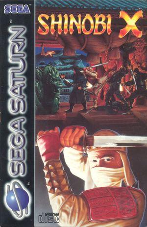 Cover for Shinobi Legions.