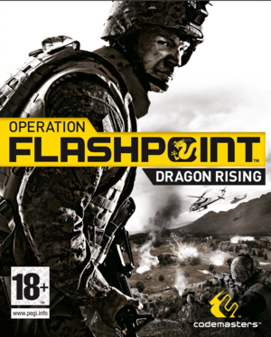 Cover for Operation Flashpoint: Dragon Rising.