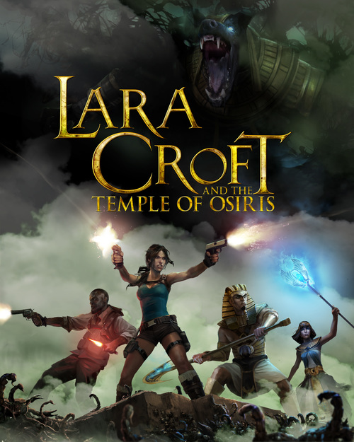 Cover for Lara Croft and the Temple of Osiris.