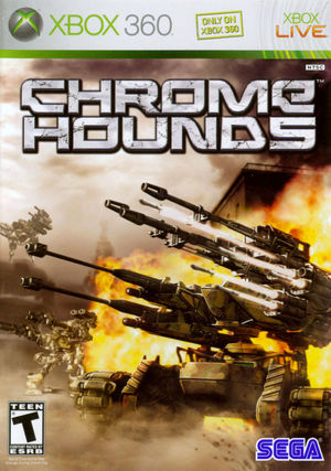 Cover for Chromehounds.