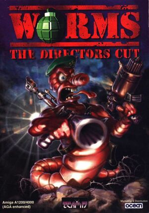 Cover for Worms: The Director's Cut.