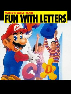 Cover for Mario's Early Years! Fun with Letters.