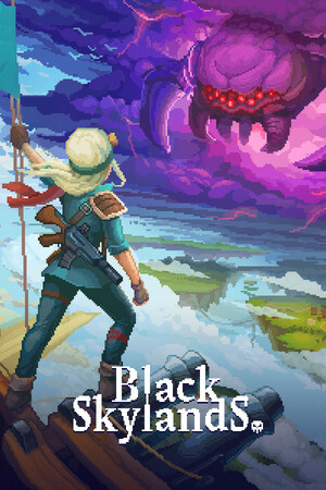 Cover for Black Skylands.