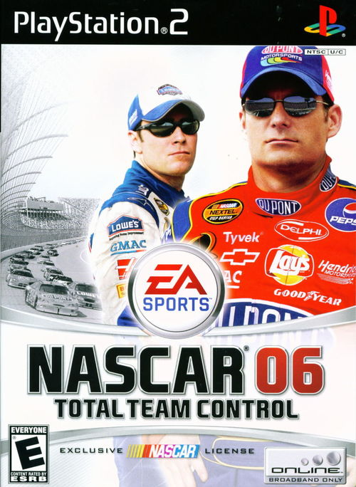 Cover for NASCAR 06: Total Team Control.