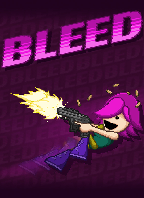 Cover for Bleed.