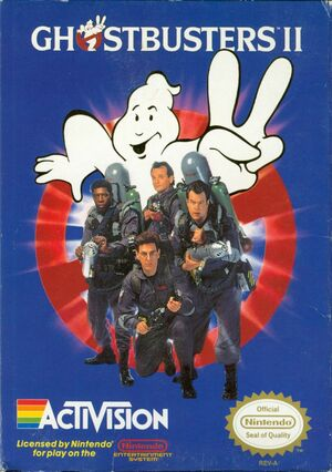 Cover for Ghostbusters II.