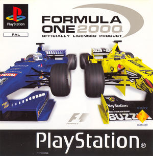 Cover for Formula One 2000.