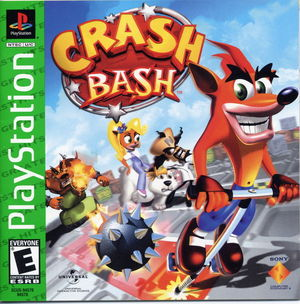 Cover for Crash Bash.