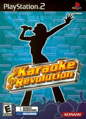 Cover for Karaoke Revolution.