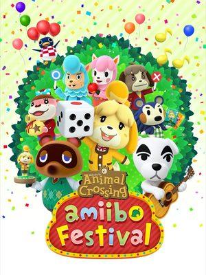 Cover for Animal Crossing: Amiibo Festival.