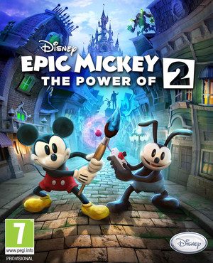 Cover for Epic Mickey 2: The Power of Two.