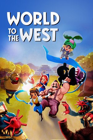 Cover for World to the West.