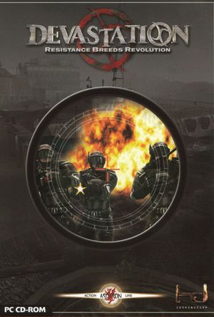 Cover for Devastation.