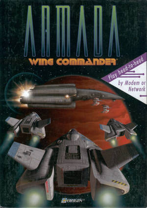 Cover for Wing Commander: Armada.