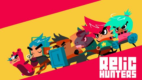 Cover for Relic Hunters Zero.
