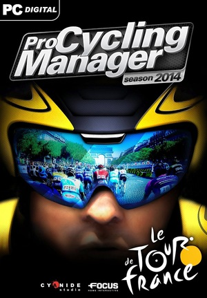 Cover for Pro Cycling Manager 2014.