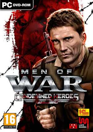 Cover for Men of War: Condemned Heroes.