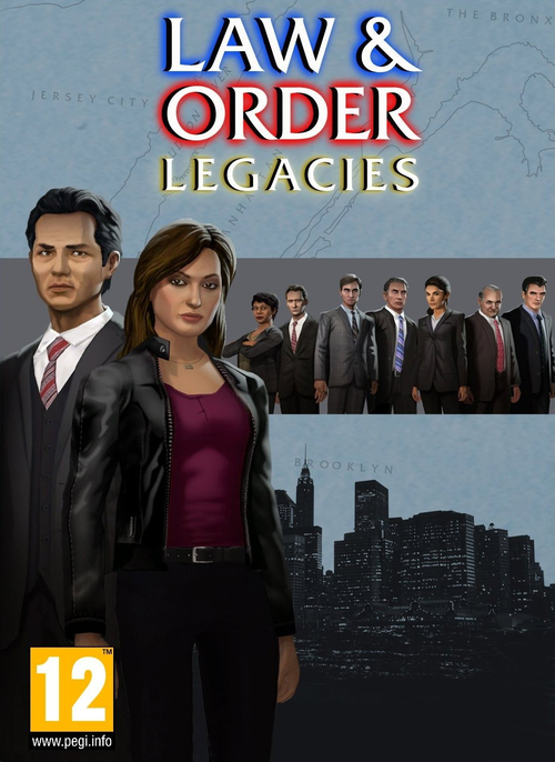 Cover for Law & Order: Legacies.