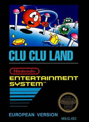 Cover for Clu Clu Land.