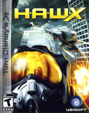 Cover for Tom Clancy's H.A.W.X.