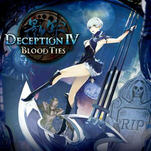 Cover for Deception IV: Blood Ties.