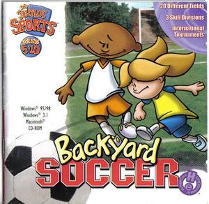 Cover for Backyard Soccer.