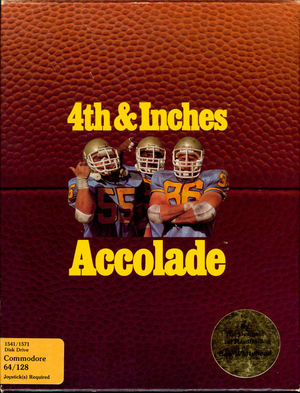 Cover for 4th & Inches.