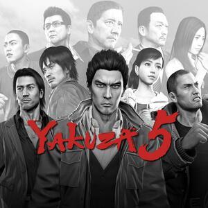 Cover for Yakuza 5.