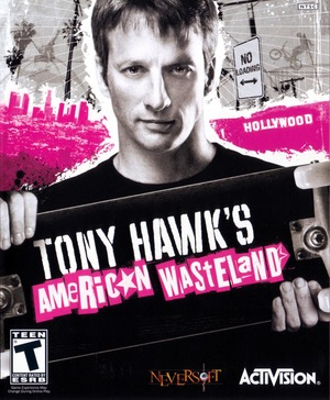 Cover for Tony Hawk's American Wasteland.