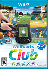 Cover for Wii Sports Club.