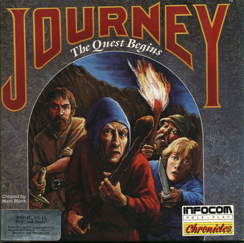 Cover for Journey.