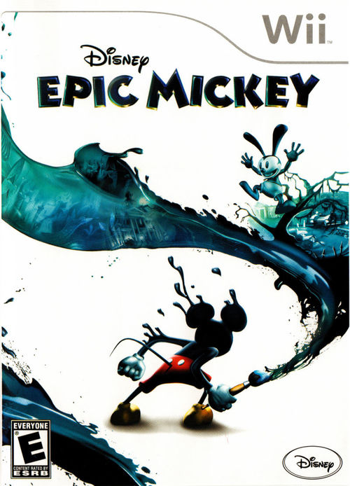 Cover for Epic Mickey.