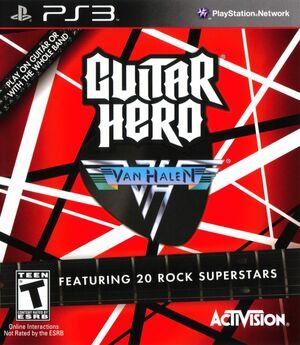 Cover for Guitar Hero: Van Halen.