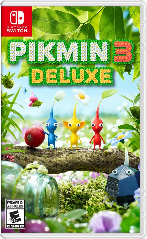 Cover for Pikmin 3 Deluxe.