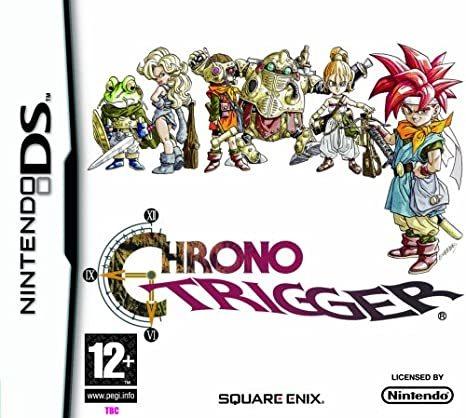 Cover for Chrono Trigger for Nintendo DS.