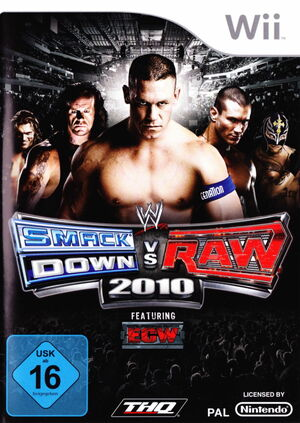 Cover for WWE SmackDown vs. Raw 2010.