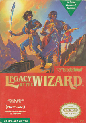 Cover for Legacy of the Wizard.