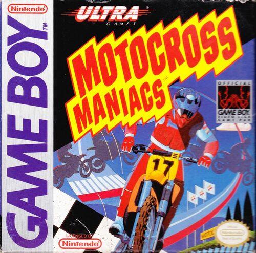 Cover for Motocross Maniacs.