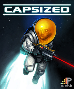 Cover for Capsized.