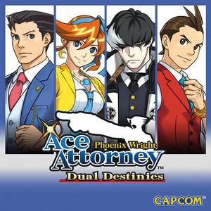 Cover for Phoenix Wright: Ace Attorney − Dual Destinies.