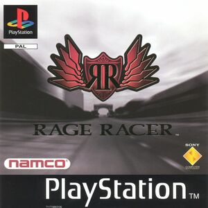 Cover for Rage Racer.