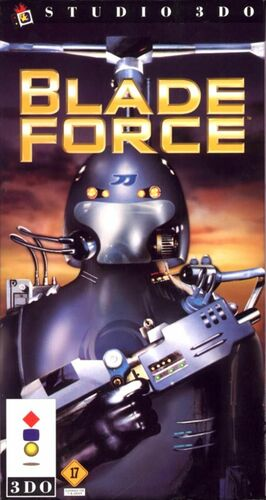Cover for Blade Force.