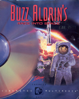 Cover for Buzz Aldrin's Race Into Space.