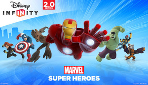 Cover for Disney Infinity 2.0: Marvel Super Heroes.