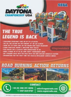 Cover for Daytona Championship USA.